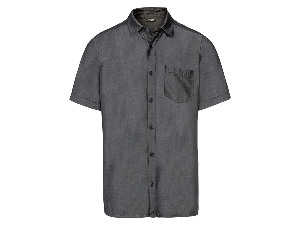 Bild 5 von LIVERGY® Hemd Herren, kurzarm, leicht taillierter Schnitt, aufgesetzte Brusttasche