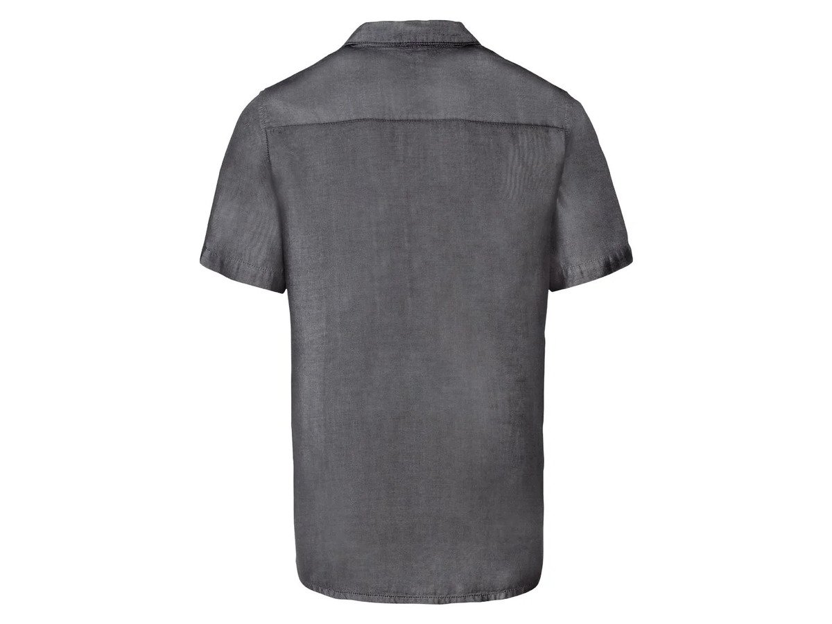 Bild 6 von LIVERGY® Hemd Herren, kurzarm, leicht taillierter Schnitt, aufgesetzte Brusttasche