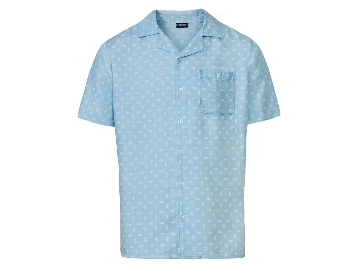 Bild 8 von LIVERGY® Hemd Herren, kurzarm, leicht taillierter Schnitt, aufgesetzte Brusttasche