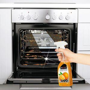 MAXXMEE Reinigungsmittel Orangenreiniger Set 4-tlg. 500ml Sprühflasche/3 Sachet