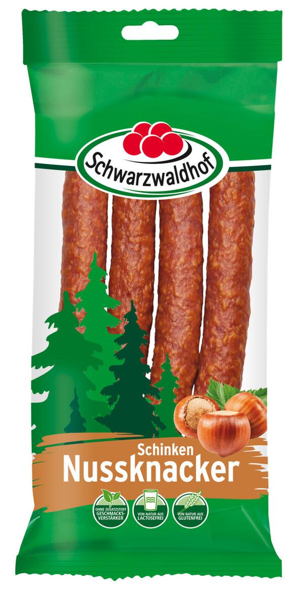Schwarzwaldhof Schinken Nussknacker Haselnuss 150 g