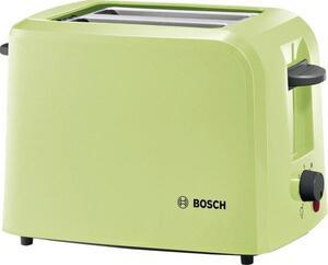 Bosch Haushalt TAT3A016 Toaster mit eingebautem Brötchenaufsatz Hellgrün (transparent)