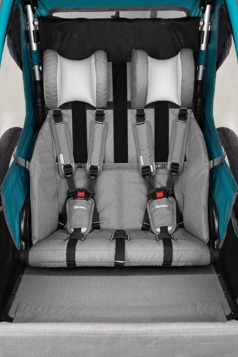 """Bild 2 von Qeridoo Kindersportwagen """"Sportrex2"""", Petrol"""