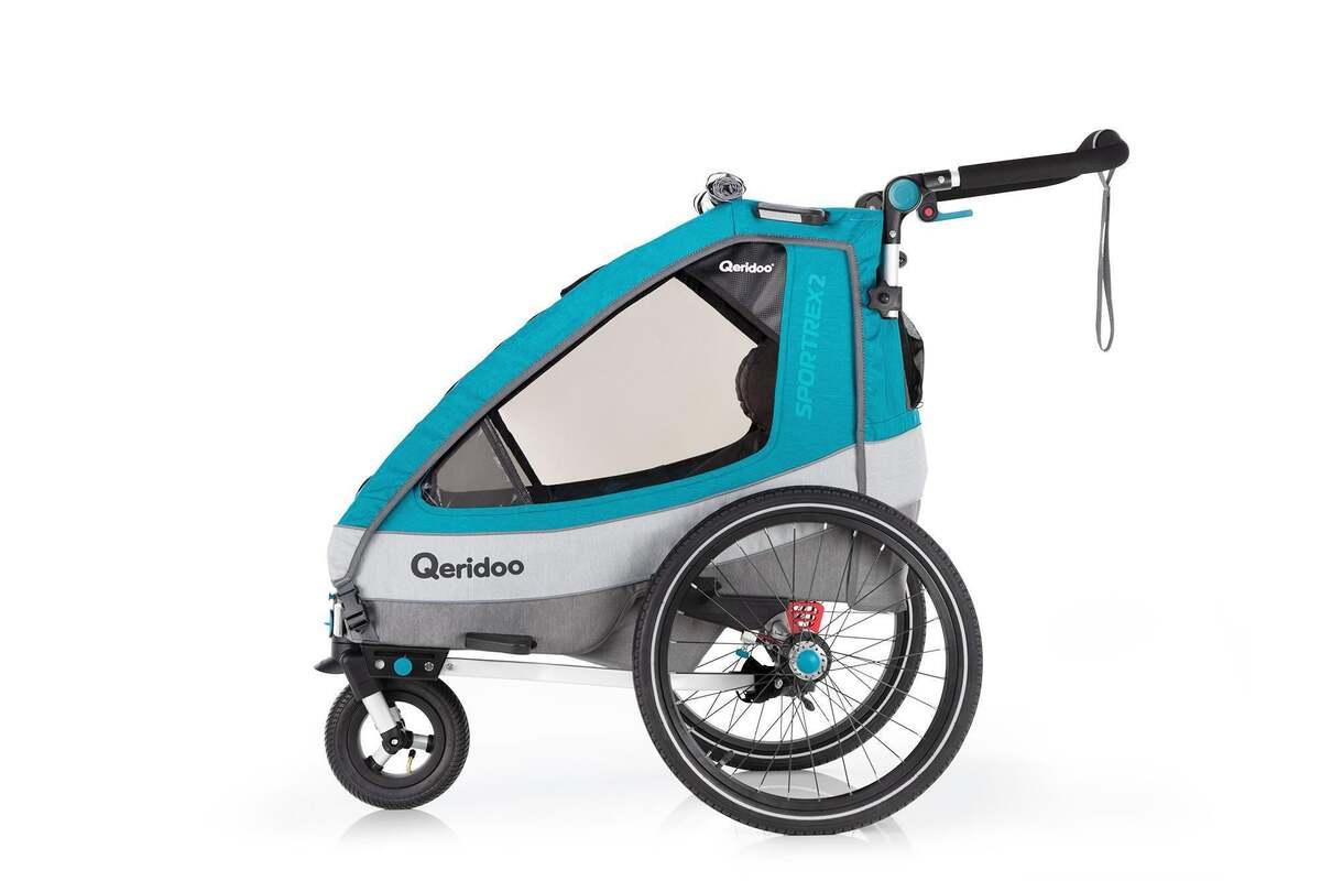 """Bild 3 von Qeridoo Kindersportwagen """"Sportrex2"""", Petrol"""