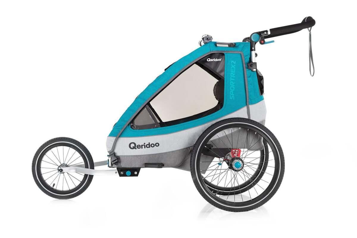 """Bild 4 von Qeridoo Kindersportwagen """"Sportrex2"""", Petrol"""