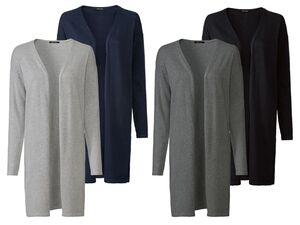 ESMARA® Cardigan Damen, 2 Stück, aus reiner Bio-Baumwolle