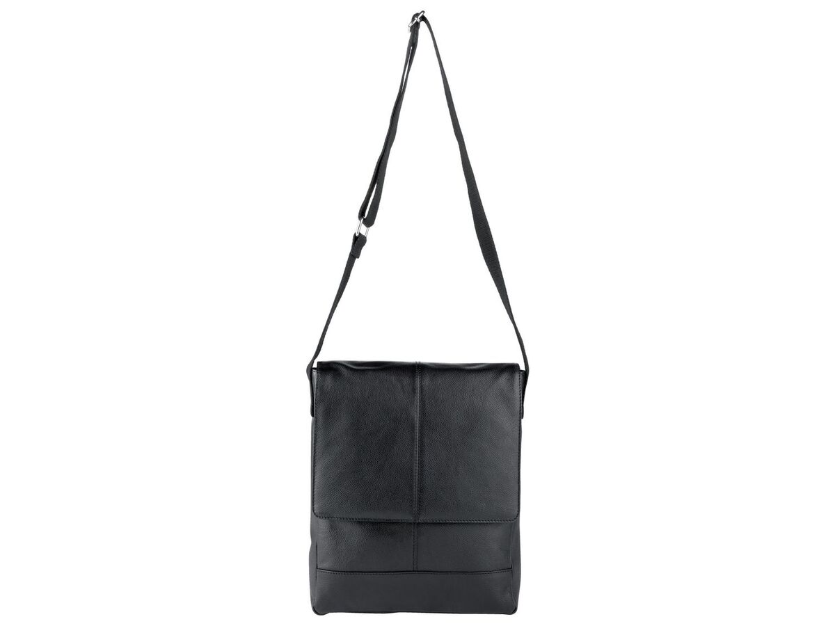 Bild 2 von LIVERGY® Herren Leder Laptoptasche / Messengerbag, mit verstellbarem Schultergurt