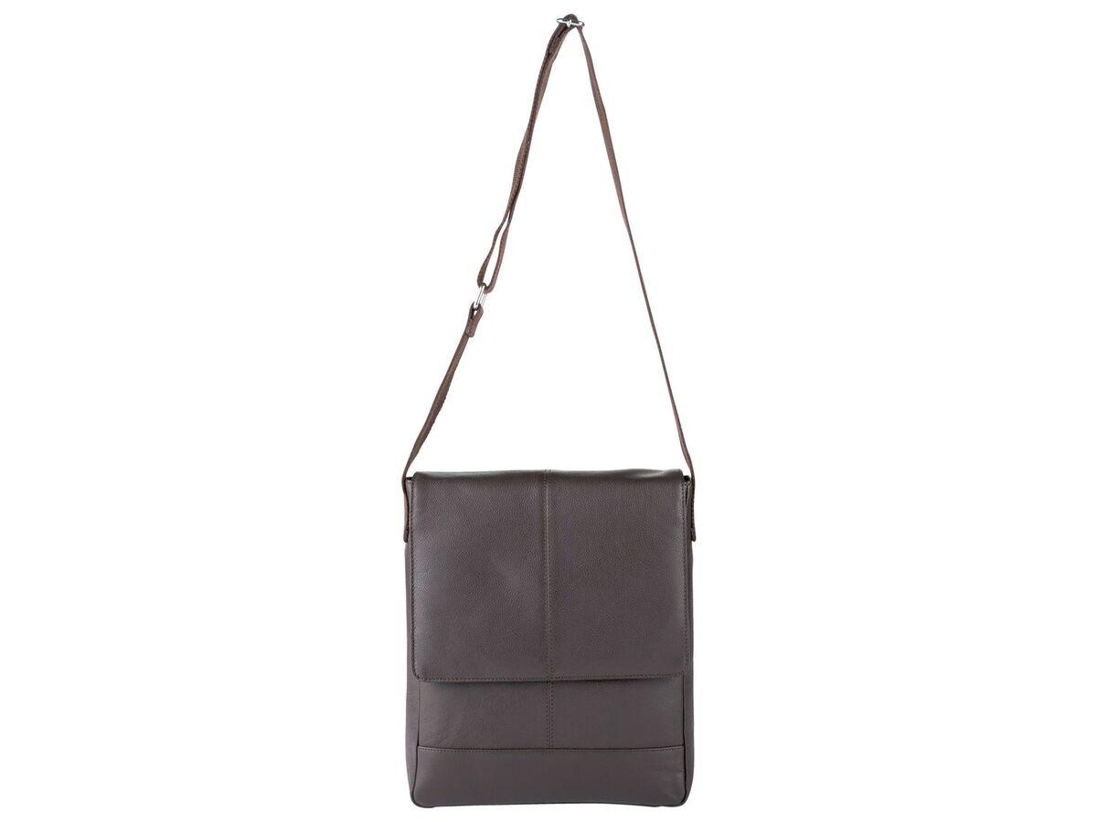 Bild 4 von LIVERGY® Herren Leder Laptoptasche / Messengerbag, mit verstellbarem Schultergurt