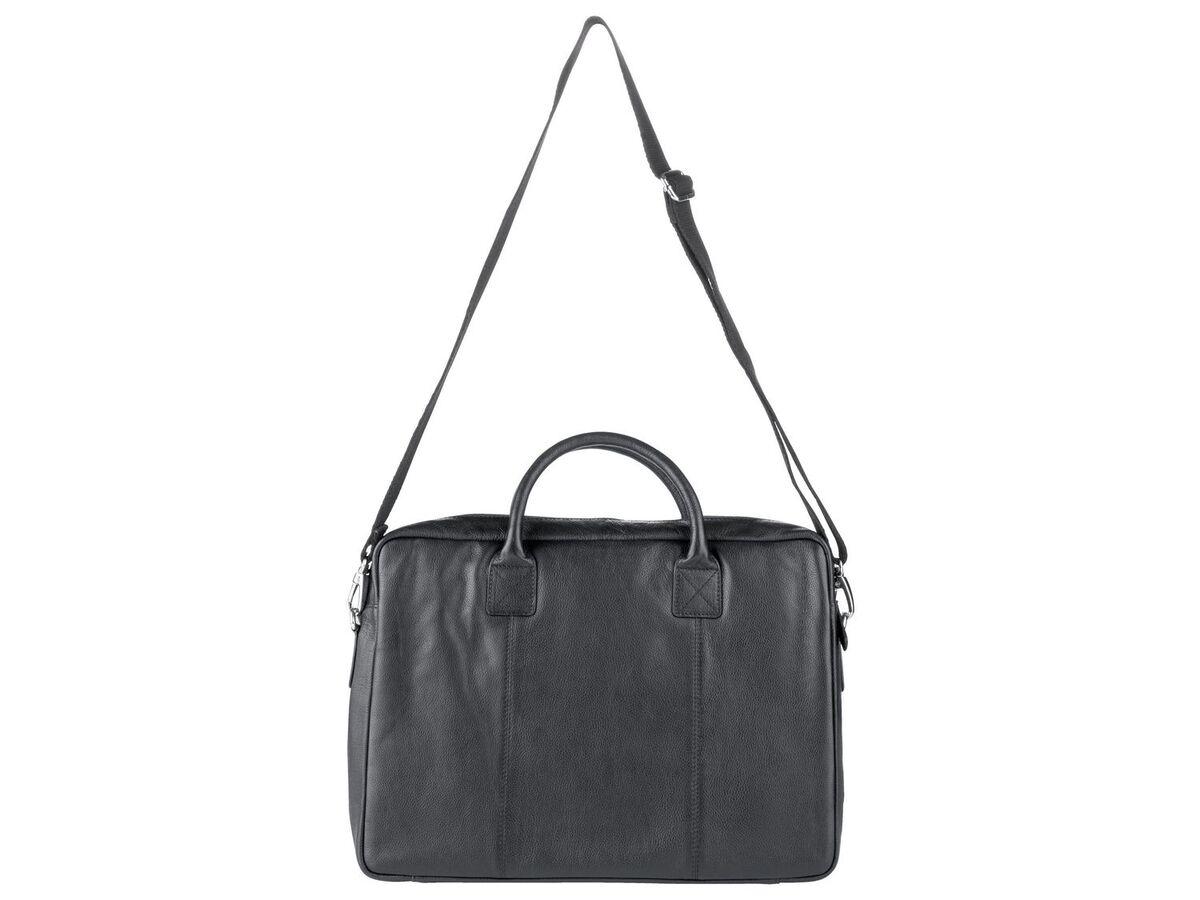 Bild 6 von LIVERGY® Herren Leder Laptoptasche / Messengerbag, mit verstellbarem Schultergurt