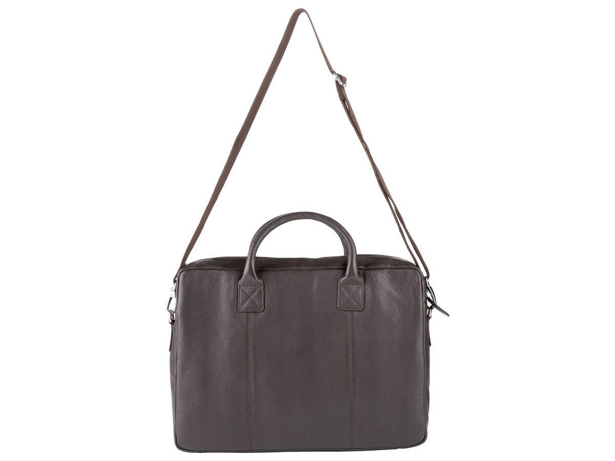 Bild 8 von LIVERGY® Herren Leder Laptoptasche / Messengerbag, mit verstellbarem Schultergurt