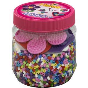 Hama Bügelperlen - 4000 Perlen - pink