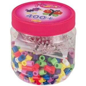 Hama Bügelperlen Maxi - 400 Perlen - pink