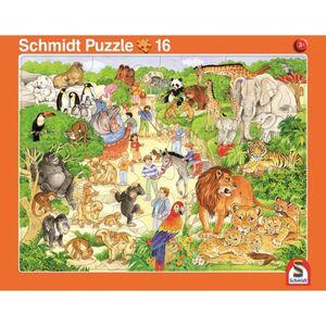 Rahmenpuzzle - Zoo und Bauernhof - 2er Set