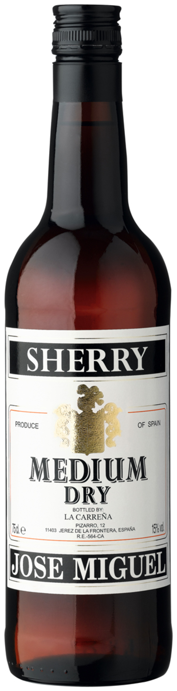 Jose Miguel Sherry Medium Dry 0,75 ltr