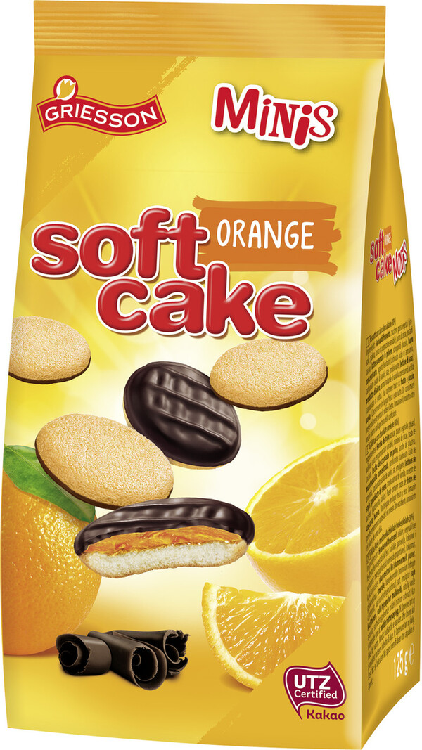 Griesson Soft Cake Minis Orange 125 g