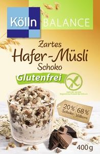 Kölln Balance Zartes Hafer-Müsli Schoko glutenfrei 400 g