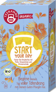 Teekanne Bio Organics Start Your Day 20x 1,8 g