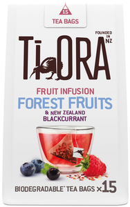Ti Ora Fruit Infusion Forest Fruits & New Zealand Blackcurrant 15x 2 g