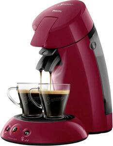 SENSEO® HD6554/90 Original HD6554/90 Kaffeepadmaschine Rubin-Rot