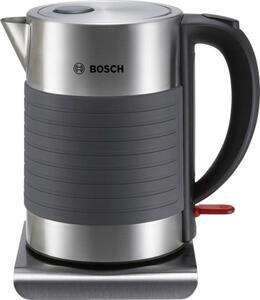 Bosch Haushalt TWK7S05 Wasserkocher schnurlos Edelstahl, Schwarz