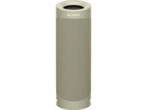 SONY SRS-XB23 tragbar, kabellos, 12h Akkulaufzeit, EXTRA BASS Bluetooth Lautsprecher,  Beige