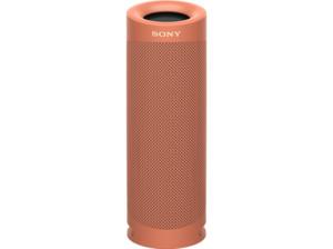 SONY SRS-XB23 tragbar, kabellos, 12h Akkulaufzeit, EXTRA BASS Bluetooth Lautsprecher,  Rot