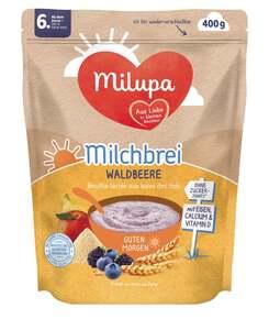 Milupa Milchbrei Waldbeere Guten Morgen, ab dem 6. Monat