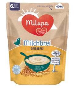 Milupa Milchbrei Grießbrei miluvit mit, ab dem 6. Monat