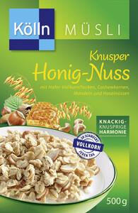 Kölln Müsli Knusper Honig-Nuss 500 g