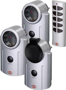 Brennenstuhl Primera-Line RC-2044 1507670 Funk Steckdosen-Set 4teilig Außenbereich 3600W