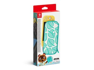 Nintendo Nintendo Switch Lite-Tasche (Animal Crossing: New Horizons-Edition) & -Schutzfolie