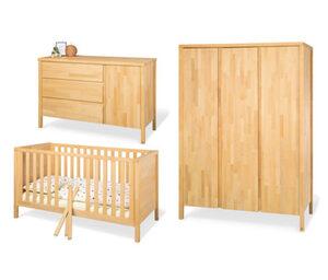 Pinolino-Babyzimmer »Enno« aus Massivholz, 3-teilig