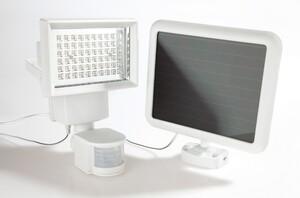 EZSolar LED Solar Sicherheitsleuchte weiß