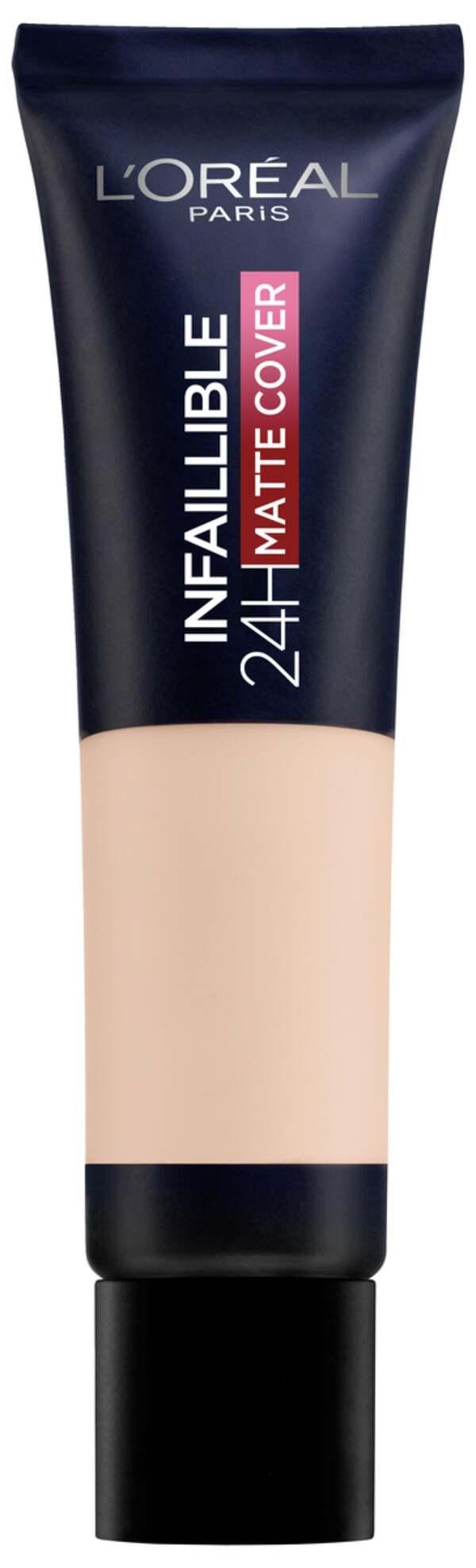 L'Oréal Paris Infaillible 24H Matte Cover 110 Vanille Rose/Rose Vanilla