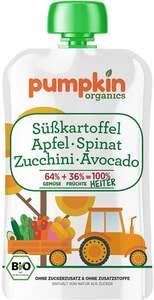 Pumpkin Organics Bio Heiter Süßkartoffel, Apfel, Spinat, Zucchini und Avocado