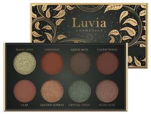 Luvia Cosmetics Lidschattenpalette Hidden Forest