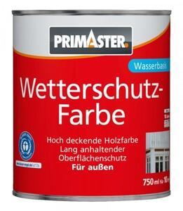 Primaster Wetterschutzfarbe SF750 750 ml, silbergrau