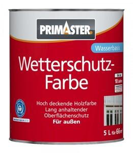 Primaster Wetterschutzfarbe SF753 5 l, weiß