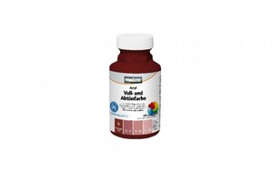 Primaster Voll- und Abtönfarbe SF203 ,  250 ml, bordeaux, matt