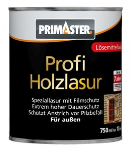 Primaster Profi Holzlasur SF1107 750 ml, eiche