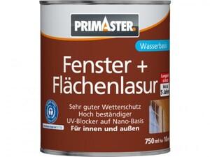Primaster Fenster- und Flächenlasur SF1312 750 ml, teak