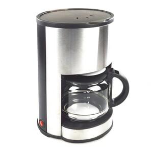 Kaffeemaschine 1080W 12 Tassen Edelstahl Glaskanne
