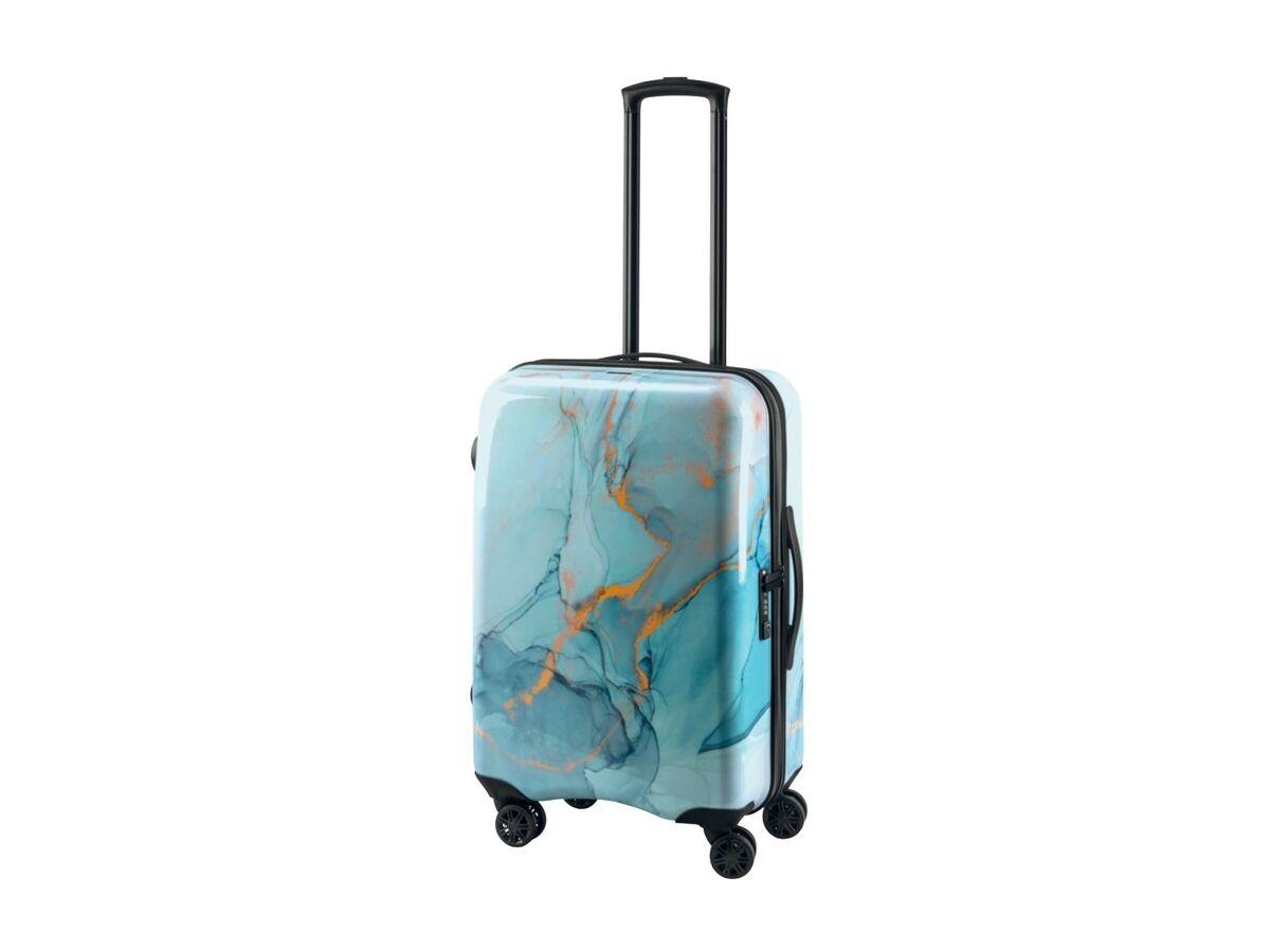 Bild 2 von TOPMOVE® Koffer, 60 l Fassungsvermögen, mit 4 Rollen, ABS-Polycarbonat-Gehäuse