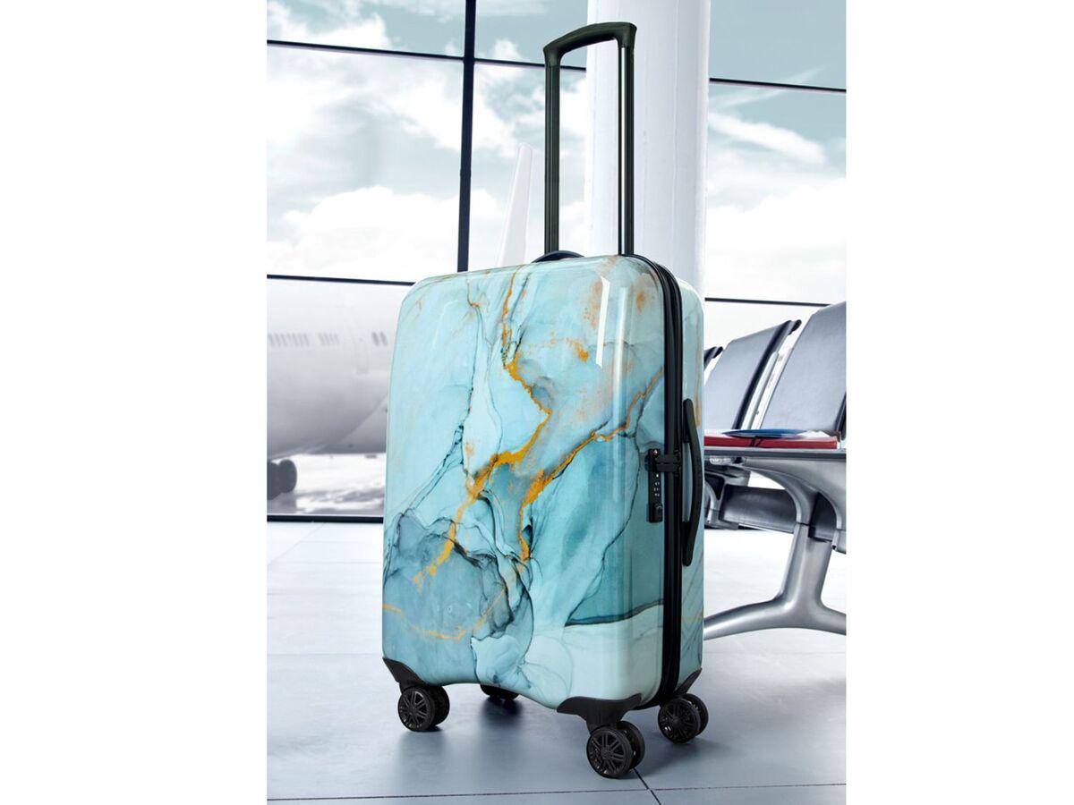 Bild 3 von TOPMOVE® Koffer, 60 l Fassungsvermögen, mit 4 Rollen, ABS-Polycarbonat-Gehäuse