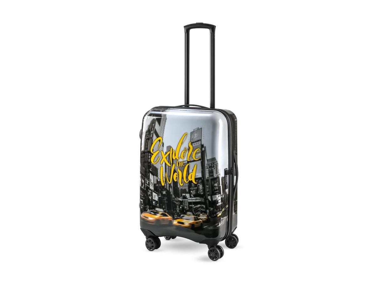 Bild 7 von TOPMOVE® Koffer, 60 l Fassungsvermögen, mit 4 Rollen, ABS-Polycarbonat-Gehäuse