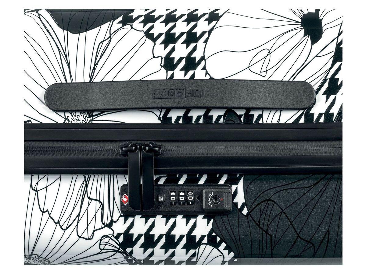 Bild 10 von TOPMOVE® Koffer, 60 l Fassungsvermögen, mit 4 Rollen, ABS-Polycarbonat-Gehäuse