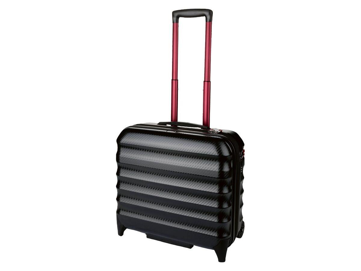 Bild 2 von TOPMOVE® Polycarbonat Business-Trolley/Bordcase, mit USB-A-Port, Regenschutzhülle