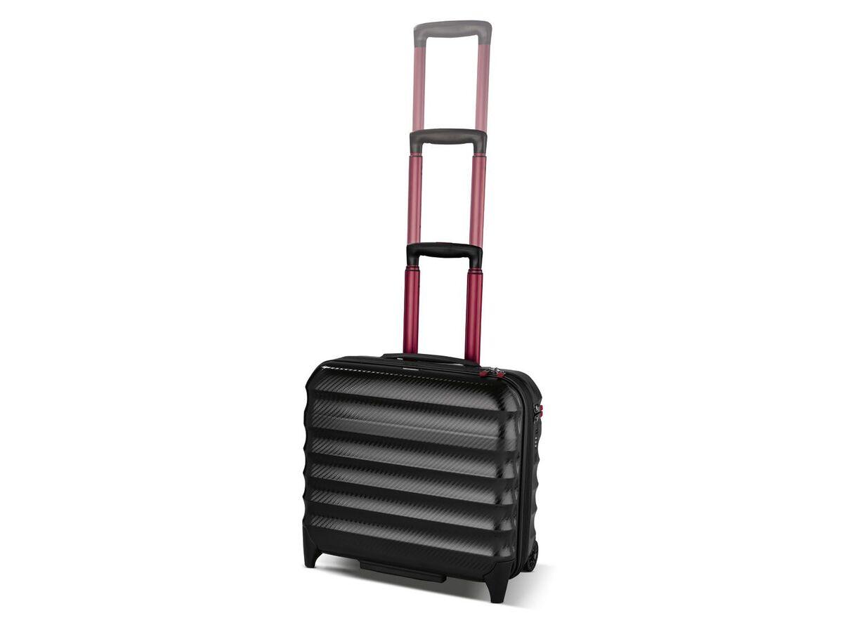 Bild 8 von TOPMOVE® Polycarbonat Business-Trolley/Bordcase, mit USB-A-Port, Regenschutzhülle