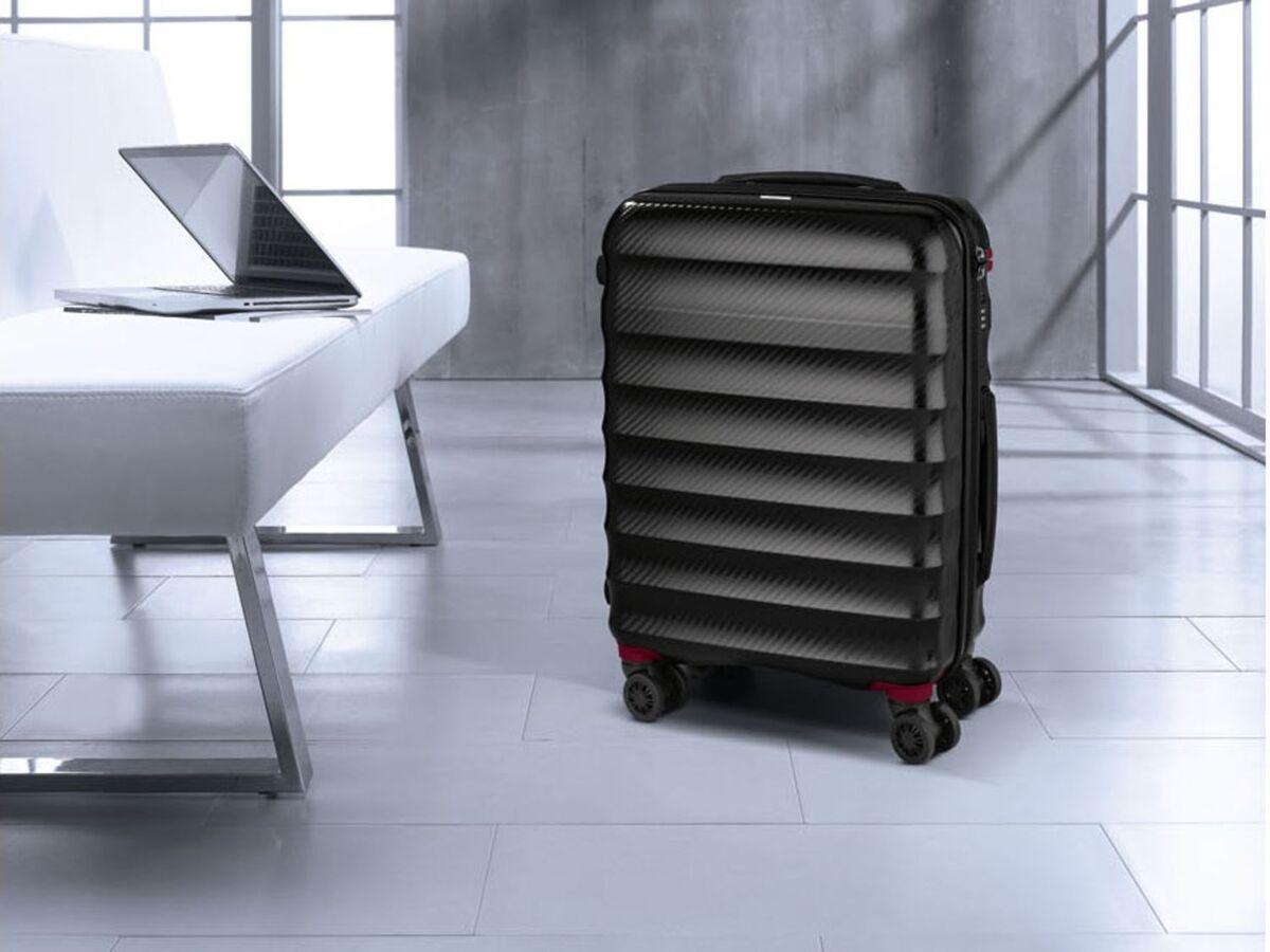 Bild 11 von TOPMOVE® Polycarbonat Business-Trolley/Bordcase, mit USB-A-Port, Regenschutzhülle