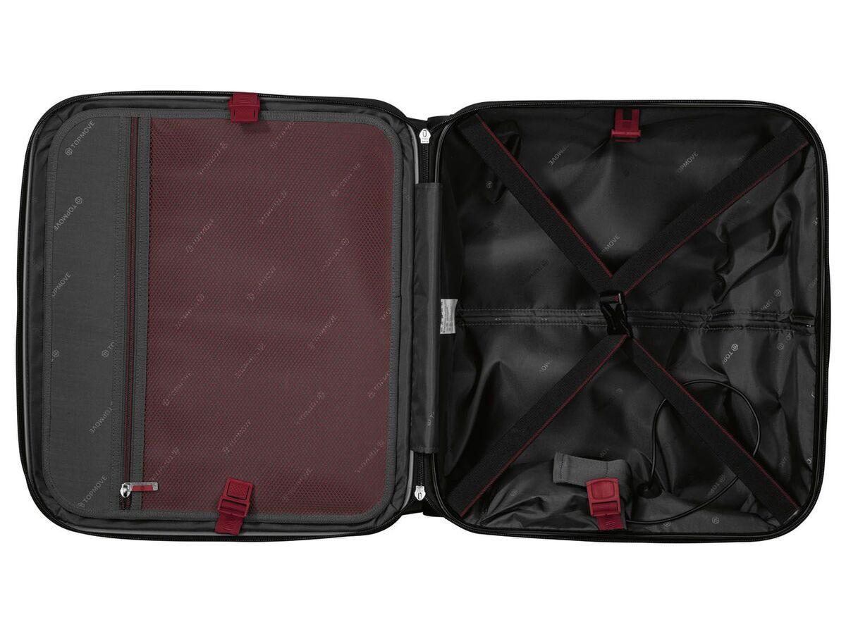 Bild 12 von TOPMOVE® Polycarbonat Business-Trolley/Bordcase, mit USB-A-Port, Regenschutzhülle
